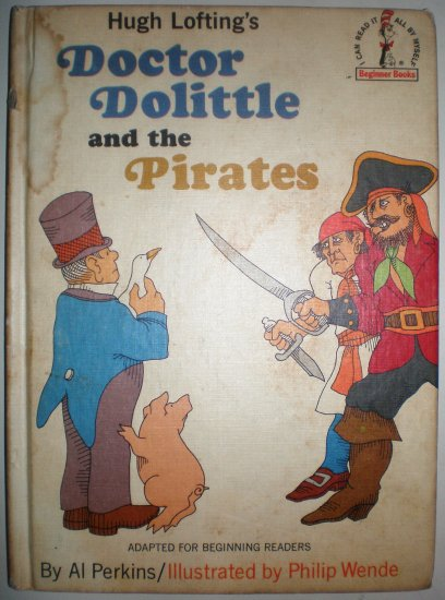 Doctor Dolittle and the Pirates, book ,kids, collectabl