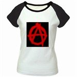 Anarchy Women's Cap Sleeve T