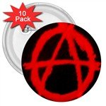 "Anarchy 3"" Button (10 pack)"