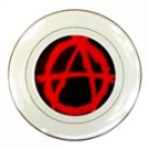 Anarchy Porcelain Plate
