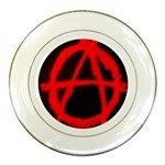 Anarchy Porcelain Plate