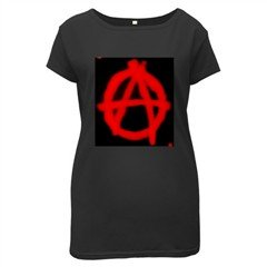 Anarchy Maternity Black T-Shirt