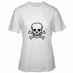 Jolly Roger Women's T-Shirt, goth , punk, rock,