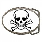 Jolly Roger Belt Buckle, punk, rock, goth