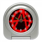 Anarchy Travel Alarm Clock, punk, goth, rock