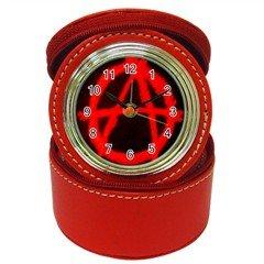 Anarchy Jewelry Case Clock, punk, goth, rock ,gift