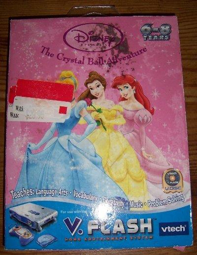 Disney Princess The Crystal Ball Adventure VFLASH VTECH