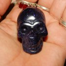 SUNSET SITARA SKULL - 1.5 Inch Carved Sunset Sitara Skull - Metaphysical Healing Crystals