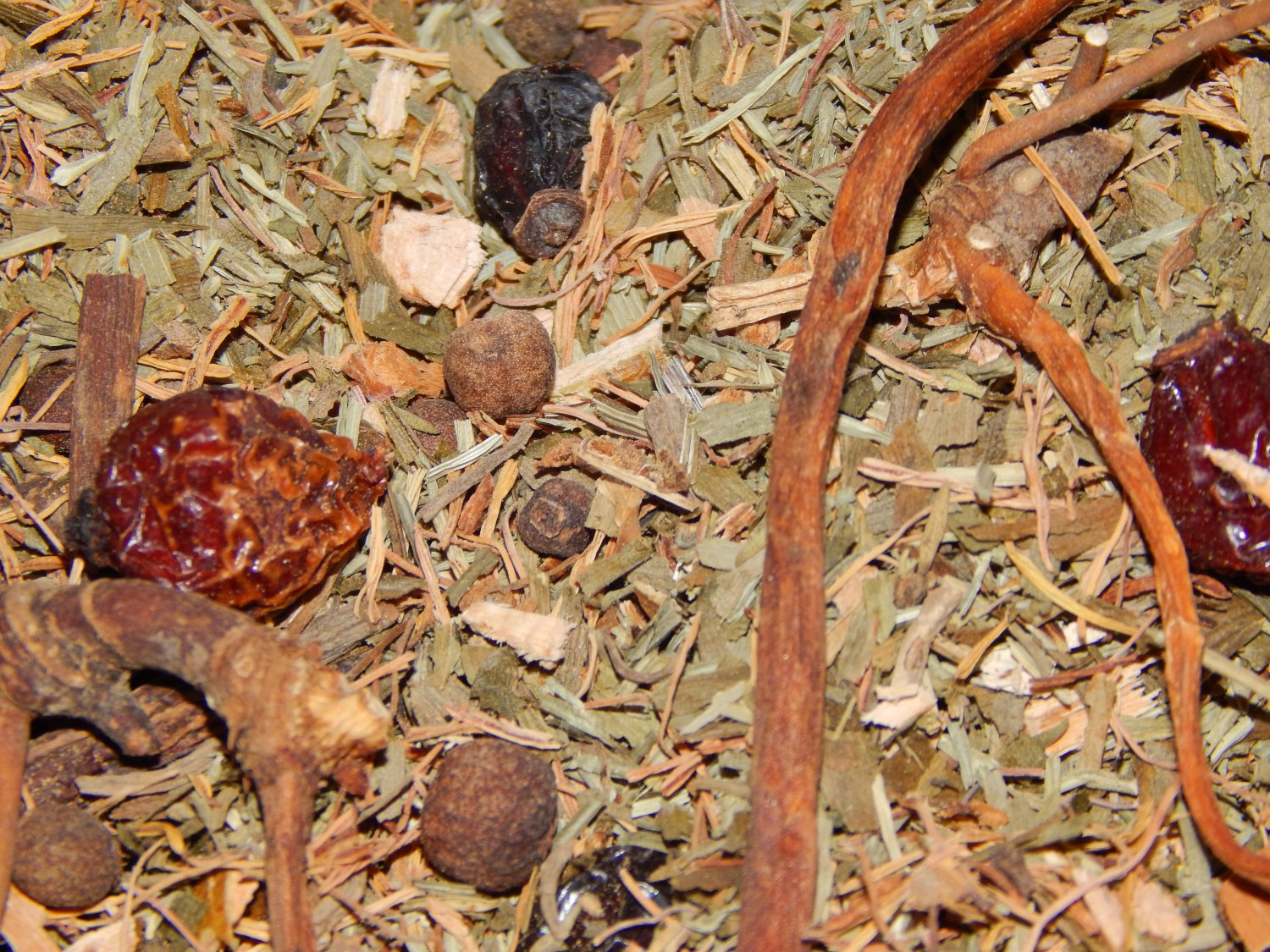 """""""In the Womb"""" Herbal Blend - Nine Herbs for use as a Smudge Incense or Spell Herb - 2 Ounces"""
