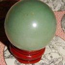 Large Genuine GREEN AVENTURINE Sphere - Natural Aventurine Orb - 40 mm Gemstone Crystal Ball