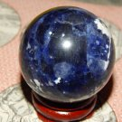 Large Genuine SODALITE ORB - Natural Sodalite Sphere - 40mm Gemstone Crystal Ball