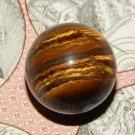Genuine TIGER'S EYE ORB - Natural Tiger's Eye Sphere - 30mm Gemstone Crystal Ball