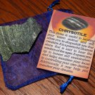GENUINE CHRYSOTILE - Natural Rough Chrysotile - 25+ mm Gemstones - Crystals - Chakra Stones