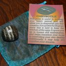 GENUINE CHRYSOTILE - Natural Tumbled Chrysotile - 25+ mm Gemstones - Crystals - Chakra Stones