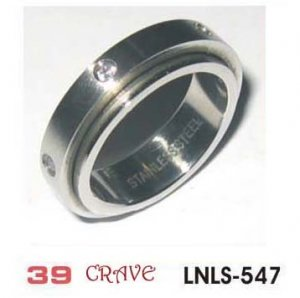 Stainless Steel Ring, style name CRAVE
