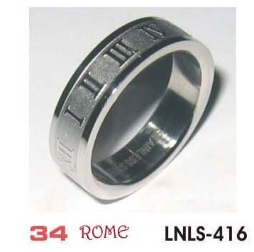 Stainless Steel Ring, style name ROME