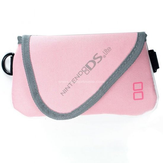 Protective Soft Pouch for NDS Lite Pink
