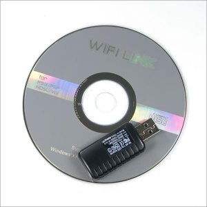 Wifi Link USB Dongle for Wireless Internet Play with Wii NDS PSP PS3