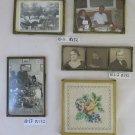 FIVE FRAMES FOR PHOTOGRAPHS VINTAGE BEGINNING TWENTIETH CENTURY PICTURE R132