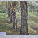 Painting Antique Painting to Watercolour on Basket Signed for Framing P28