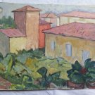 View of City of Piumazzo Painting Antique Painting Style Impressionist p9