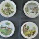 4 Dishes Ceramics Castelli Facciolini Joshua Defenders Camaiore Collection PS13