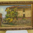 Antique Painting Style Impressionist Landscape Countryside Signed Pancaldi
