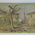 Painting Antique Painting Oil Board Landscape Countryside in Autumn Autumn p2
