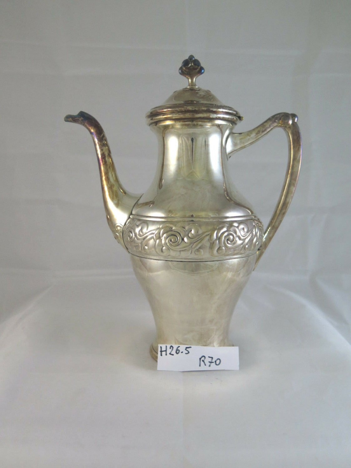 Antique Teapot Coffee Pot Sheffield Denmark First Movecento Branded R70
