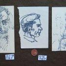 3 Sketching on Basket Opera of Painter G.Pancaldi Drawing Sketching Studio P28.7