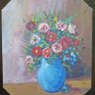 Delightful Painting Oil Painting on board Style Impressionist Painting 60's V