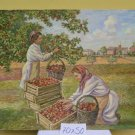 Antique Painting Landscape Countryside Collection Fruit Painting of 900 Antique