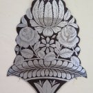 Frieze Antique Painting and Engraved a Engraving with Motifs Floral Blossom CH13