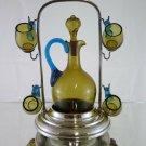 Service of Shot Glasses for Liqueur Art Nouveau Denmark Beginning 900 R46
