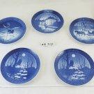5 Dishes Collection Ceramics Royal Copenhagen Denmark 1969 1974 1975 1984 R120