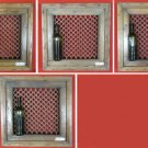 4 Frames Newel Posts Window Level for Small Table Ancient Wood & Iron India