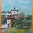 Landscape Spanish IN Spring Old Painting Style Impressionist MD3
