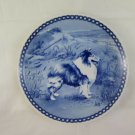 Plate IN Ceramic Tove Svendsen Hundeplatte Shetland Sheepdog Dog Denmark R77