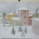 25 3/16x19 11/16in Painting Vintage To Watercolour With Technical Of Gel View,