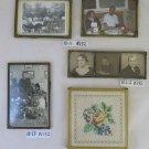 Five Frames For Photographs Vintage Beginning Twentieth Century Locket R132