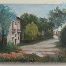 Old Painting oil Opera Of Painter Piedmont Luigi Coticoni Painting BM44