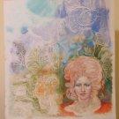 Painting Vintage Studio Praparatorio For Portrait Feminine Pop Art P33.2