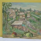 Painting Antique Painting Signed landscape Countryside Landscape