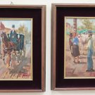 Two Paintings To oil Ennio Formigli Livorno Painter Labronici Painting oil X8