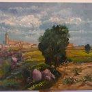 Painting Style Impressionist Signed Segura landscape Spain Vintage MD9