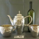 Service For Coffee' Tea Antique Art Nouveau Style Libery Denmark silver plated
