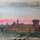 Painting Modern A Technical Mixed landscape Style Pop Original Years 80 P33.1