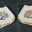 Two Dishes IN Ceramic Luneville Goupy France Vintage For Capacity BM34
