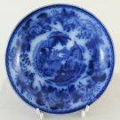 Plate Of Ceramics Tiber F&co Antique White Blue Hallmarked On Bottom R120
