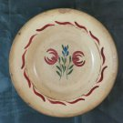Plate Antique Ceramics Hand Painted France Beginning Century By Collection BM34